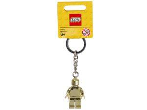 portachiavi con minifigure lego 850807 dorata