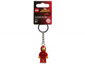 portachiavi dellinvincibile iron man lego 853706 marvel super heroes