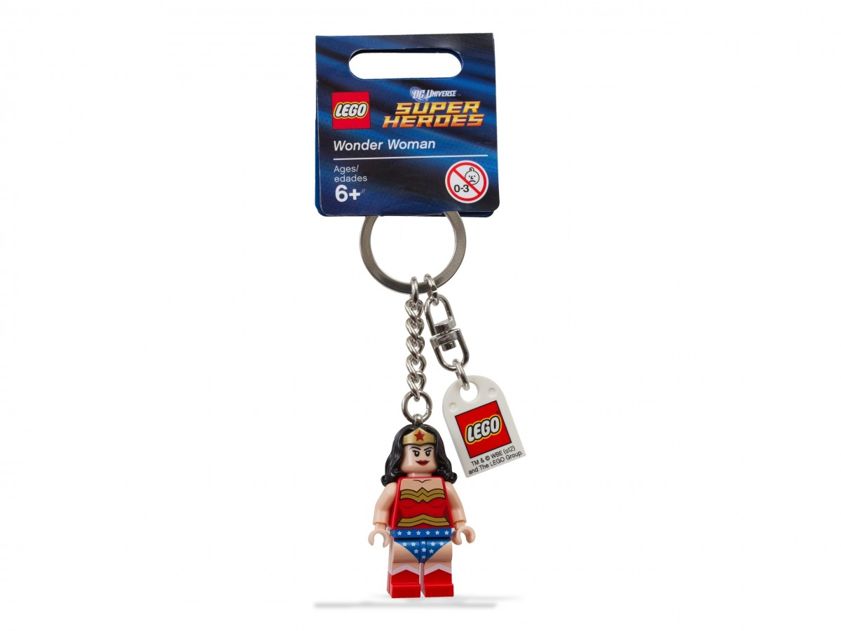 portachiavi di wonder woman lego 853433 super heroes scaled