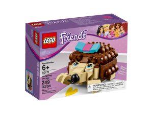 riccio contenitore costruibile lego 40171 friends