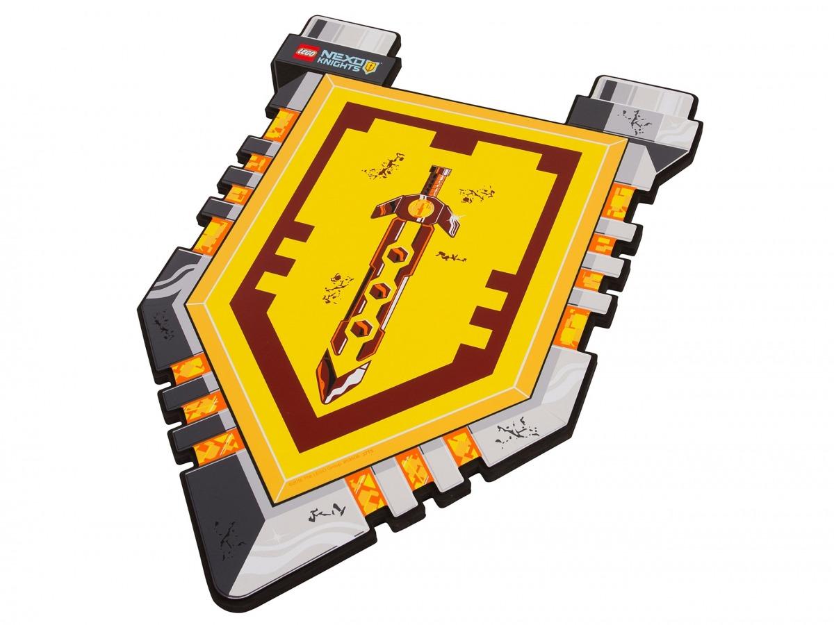 scudo del cavaliere lego 853506 nexo knights scaled