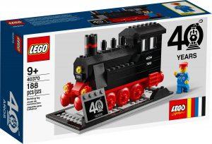 set 40 anniversario dei treni lego 40370