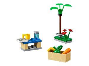 set accessori lego 40170 city costruisco la mia citta