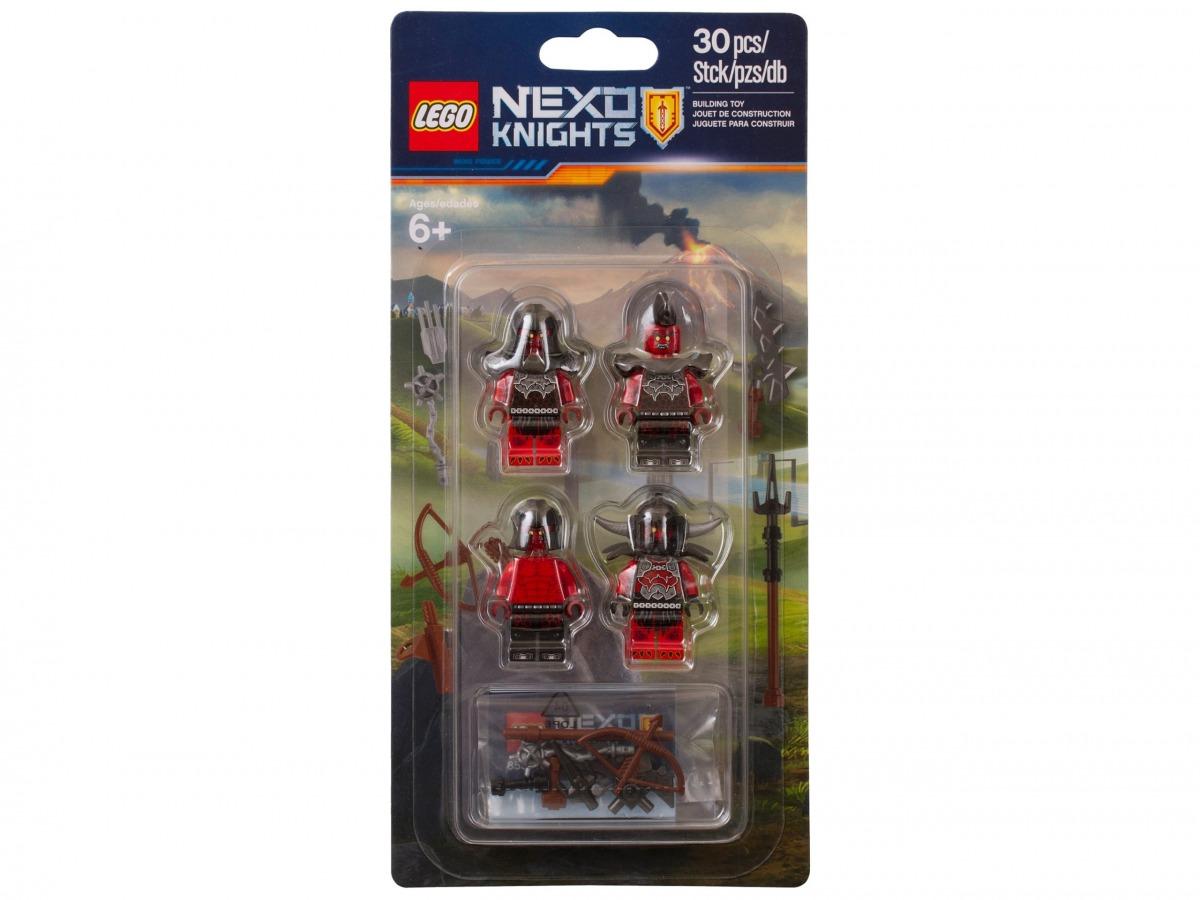 set esercito mostri di lava lego 853516 nexo knights scaled
