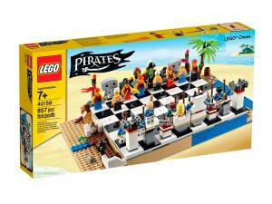 set scacchi dei pirati lego 40158