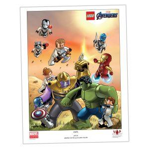stampa artistica avengers endgame lego 5005881 2 di 3