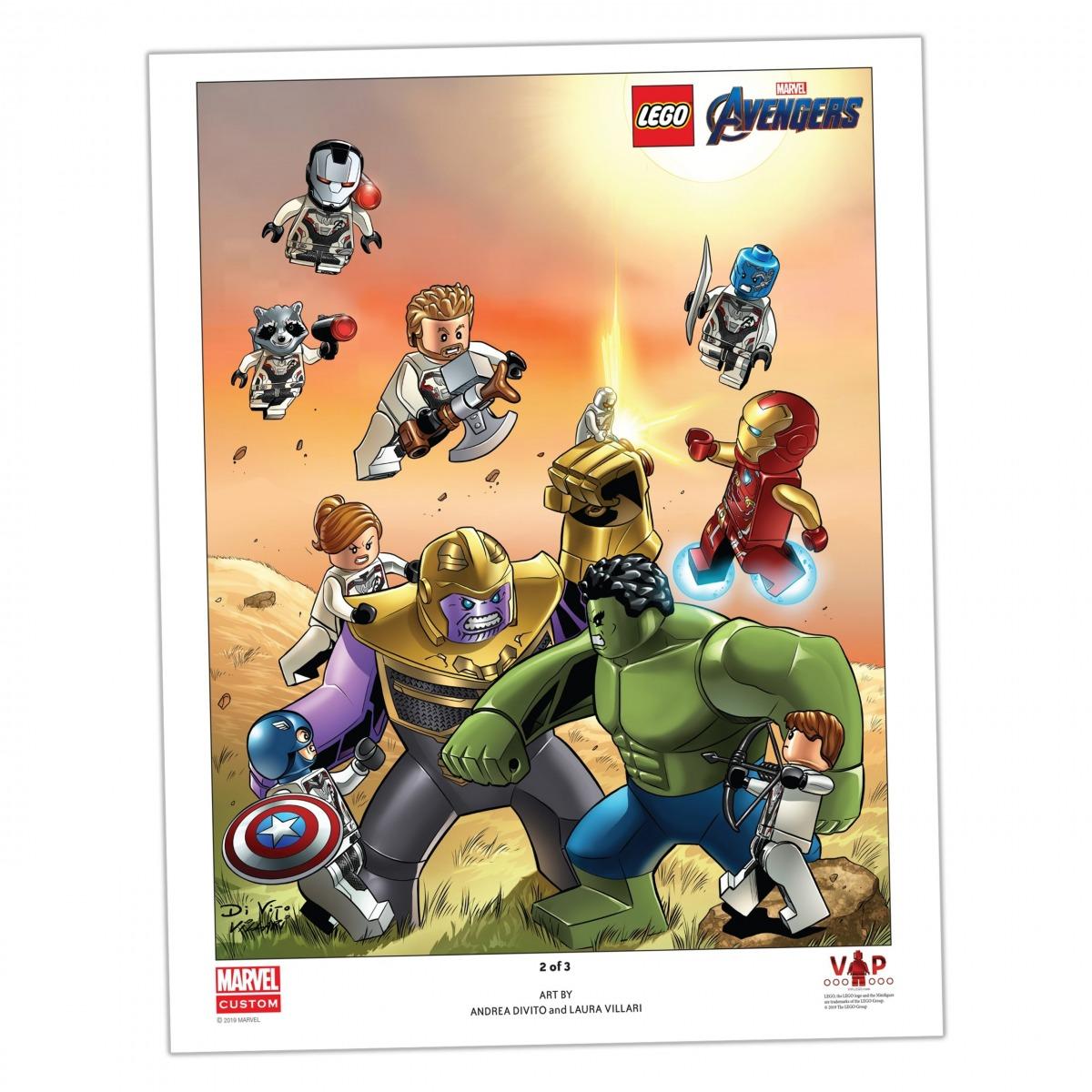 stampa artistica avengers endgame lego 5005881 2 di 3 scaled