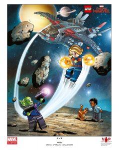 stampa artistica captain marvel lego 5005877 1 di 3
