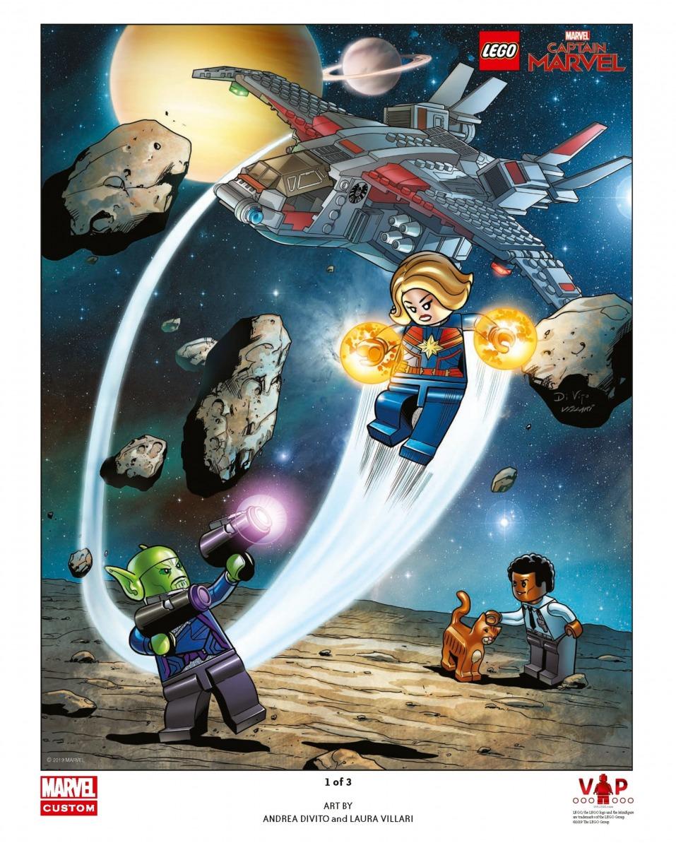 stampa artistica captain marvel lego 5005877 1 di 3 scaled