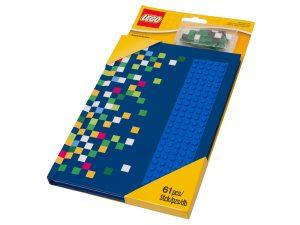 taccuino con bottoncini lego 853569