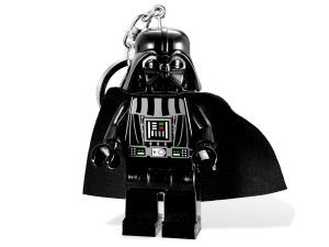 torcia portachiavi led darth vader lego 5001159 star wars