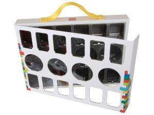 valigetta porta minifigure lego 851399