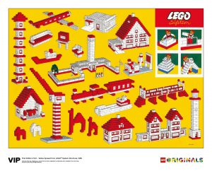 yellow spread lego 5006005 system brochure 1958