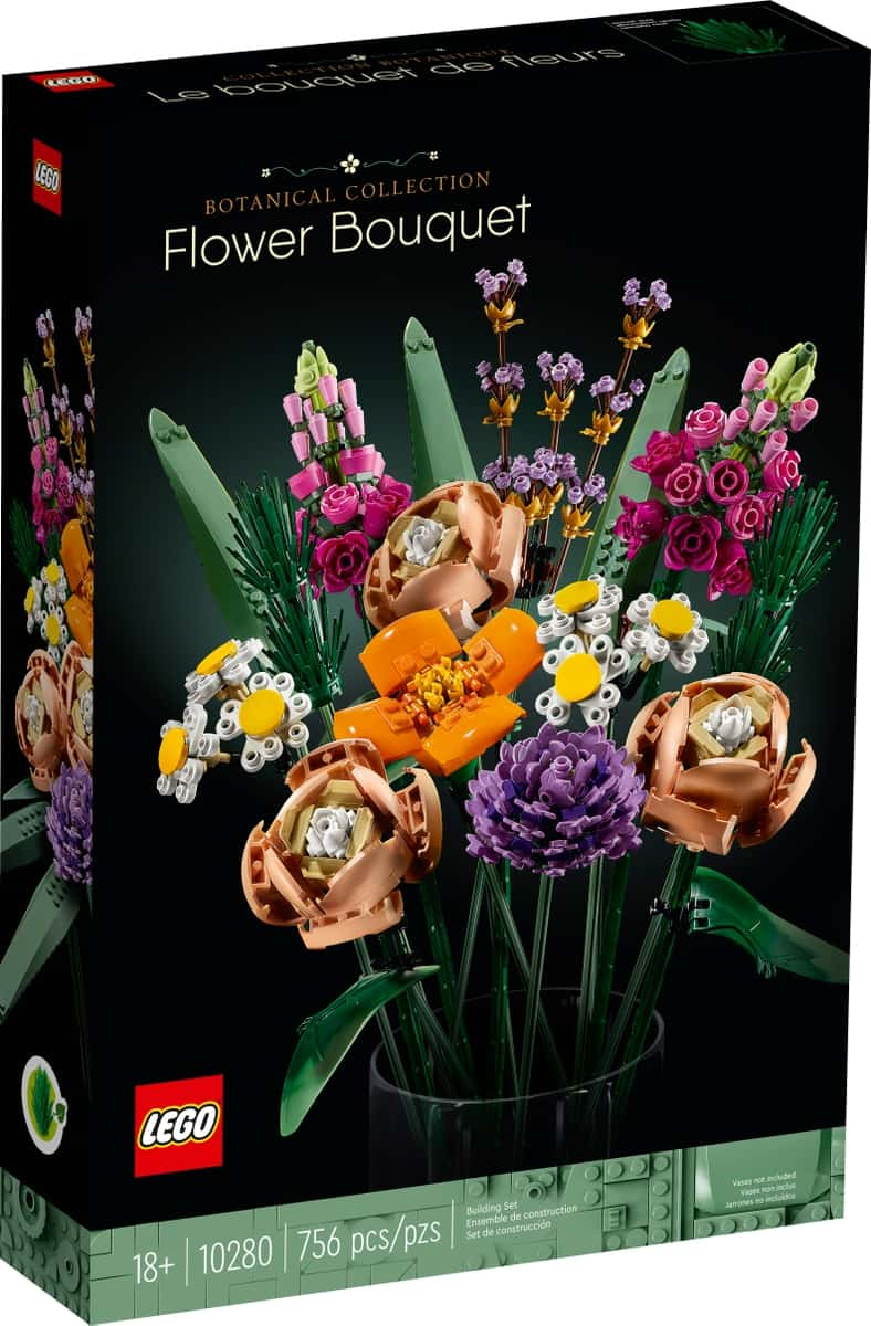 lego 10280 bouquet di fiori