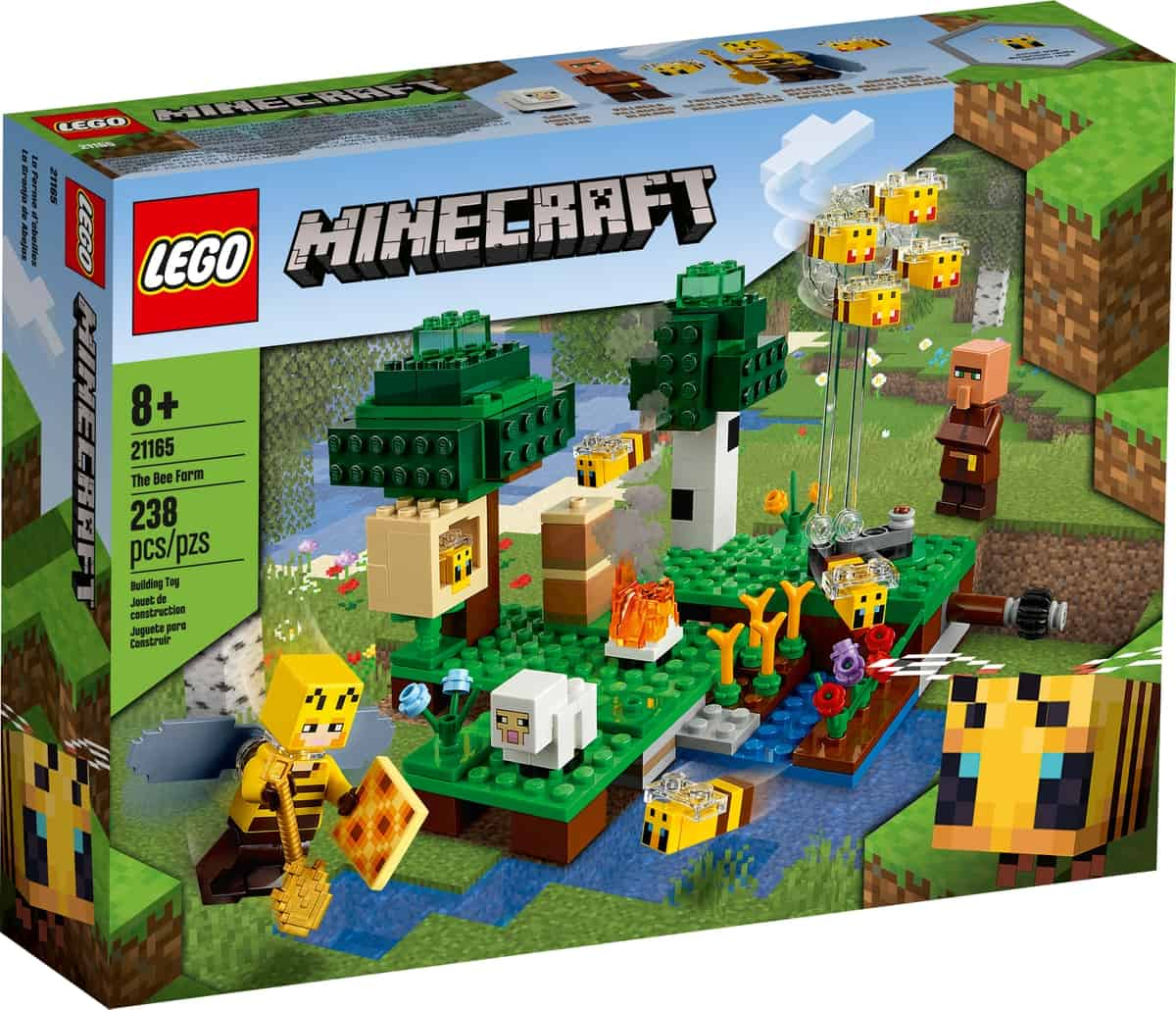 lego 21165 la fattoria delle api