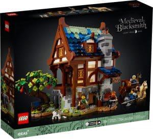 lego 21325 fabbro medievale