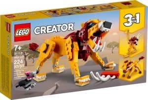 lego 31112 leone selvatico
