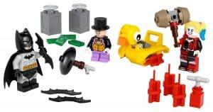 lego 40453 batman vs il pinguino e harley quinn