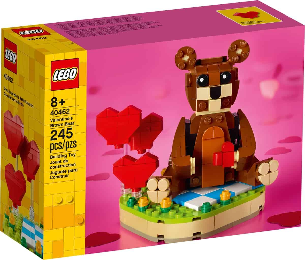 lego 40462 orso di san valentino