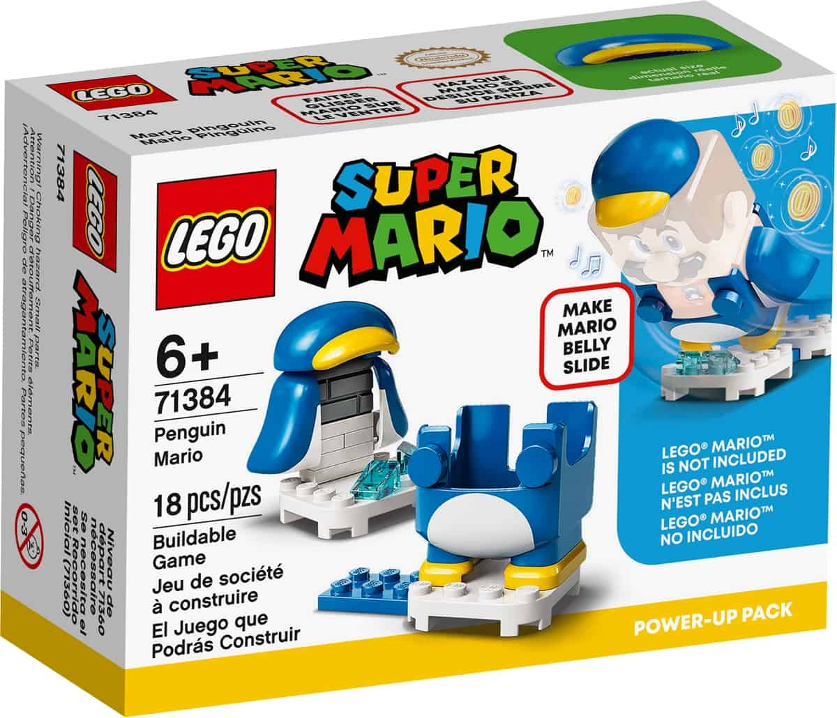 lego 71384 mario pinguino power up pack
