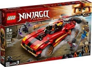 lego 71737 super bolide ninja x 1