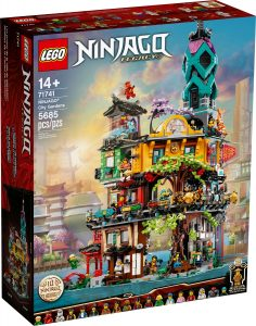 lego 71741 giardini di ninjago city