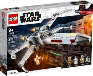 lego 75301 x wing fighter di luke skywalker