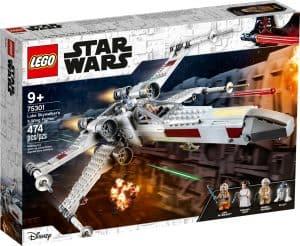 lego 75301 x wing fighter di luke skywalker