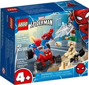 lego 76172 la resa dei conti tra spider man e sandman