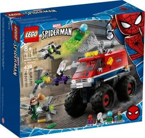 lego 76174 monster truck di spider man vs mysterio