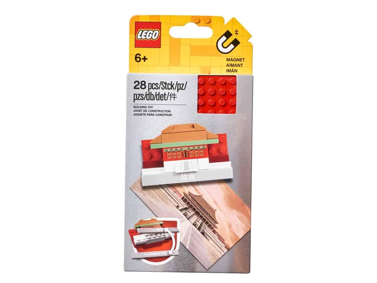 lego 854088 magnete citta proibita