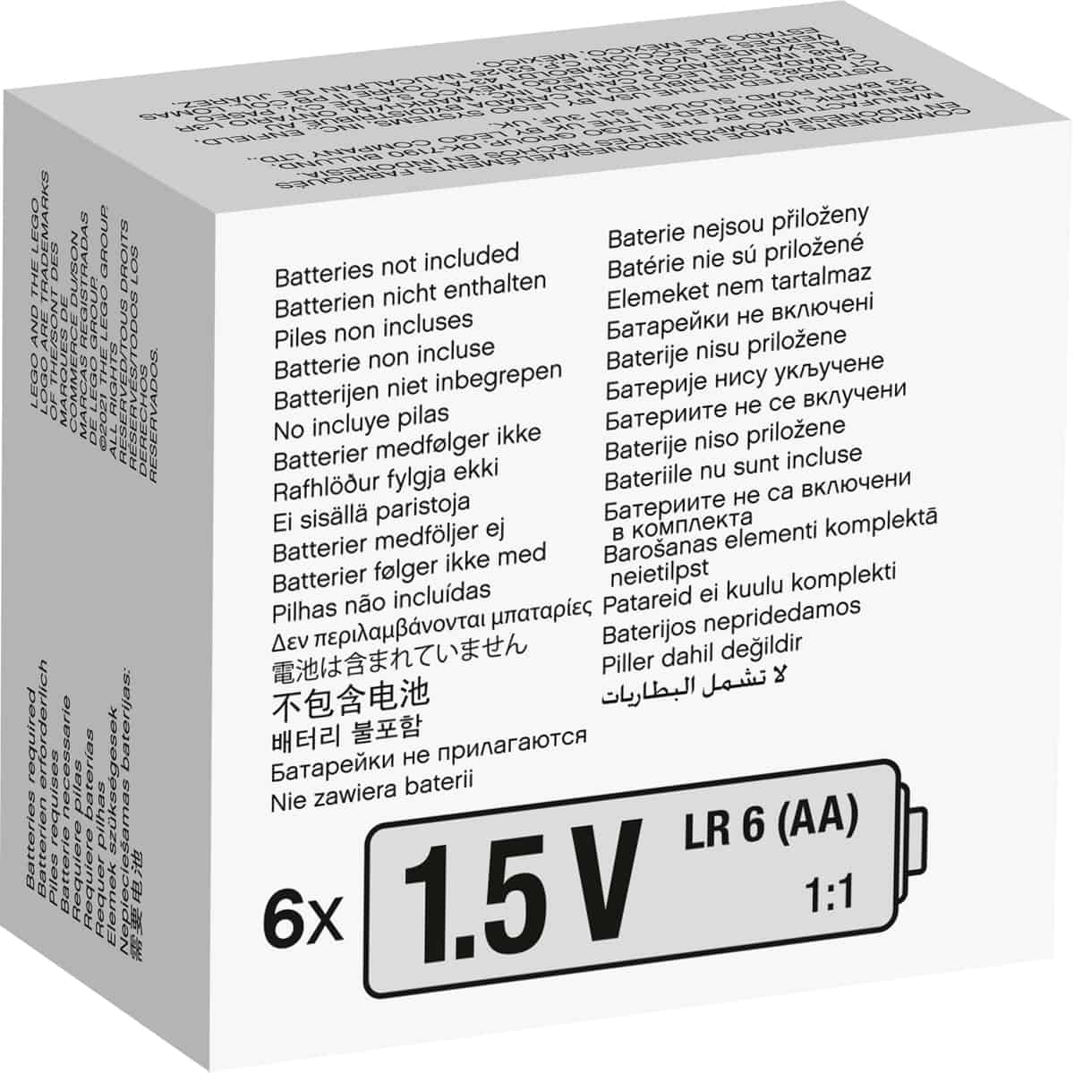 lego 88015 scatola della batteria