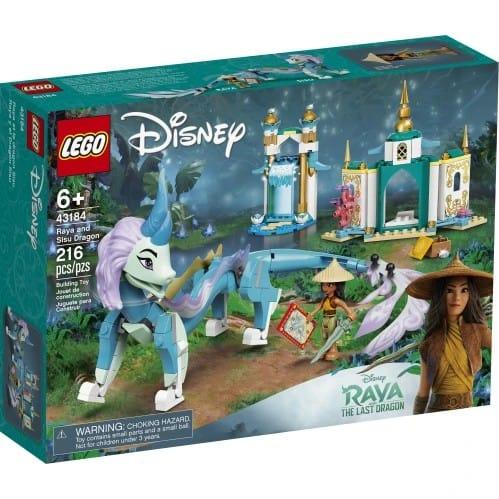 LEGO 43184 Raya and the Sisu Dragon