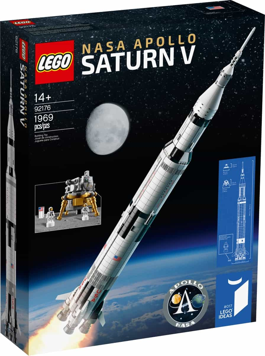 saturn v apollo lego 92176 nasa