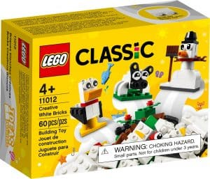 lego 11012 mattoncini bianchi creativi