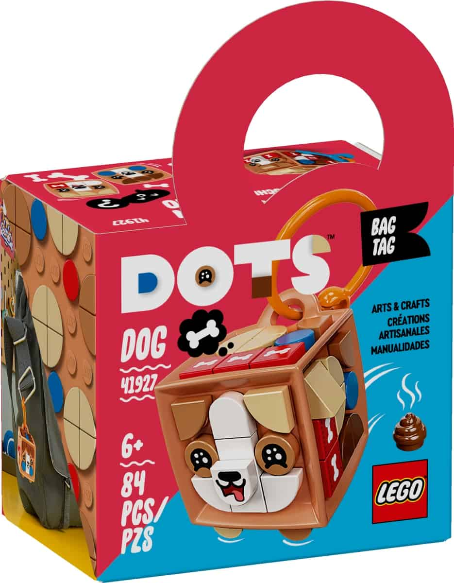 lego 41927 bag tag cagnolino