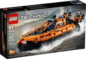 lego 42120 hovercraft di salvataggio