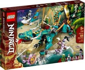 lego 71746 dragone della giungla