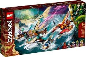 lego 71748 battaglia in mare dei catamarani