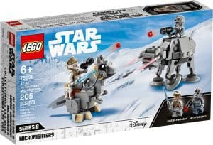 lego 75298 microfighter at at vs tauntaun