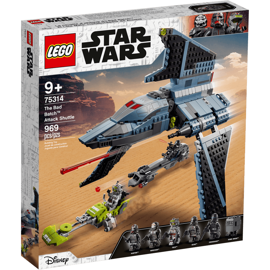 LEGO 75314 Shuttle di attacco The Bad Batch - 20210506