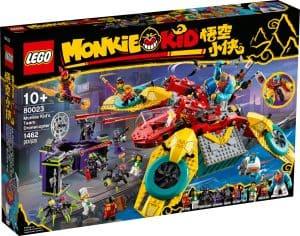 lego 80023 dronecottero del team di monkie kid