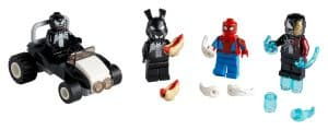 lego 40454 spider man vs venom e iron venom