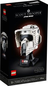 lego 75305 casco da scout trooper