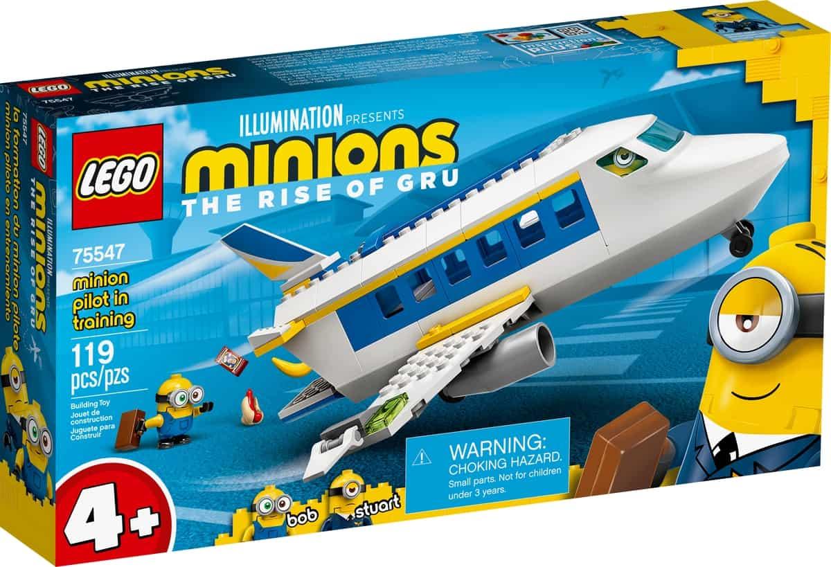 lego 75547 laddestramento del minion pilota
