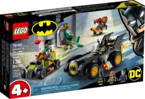 lego 76180 batman vs joker inseguimento con la batmobile