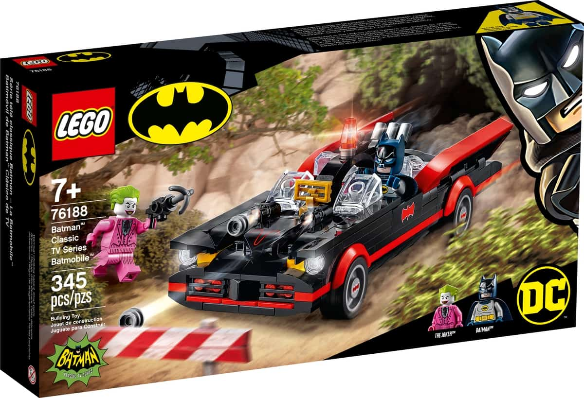 lego 76188 classica batmobile di batman della serie tv