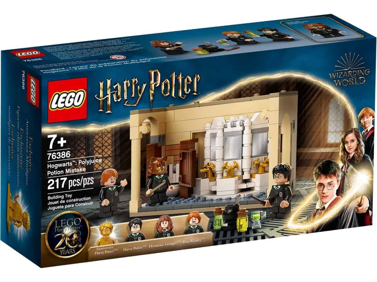 lego 76386 hogwarts errore della pozione polisucco