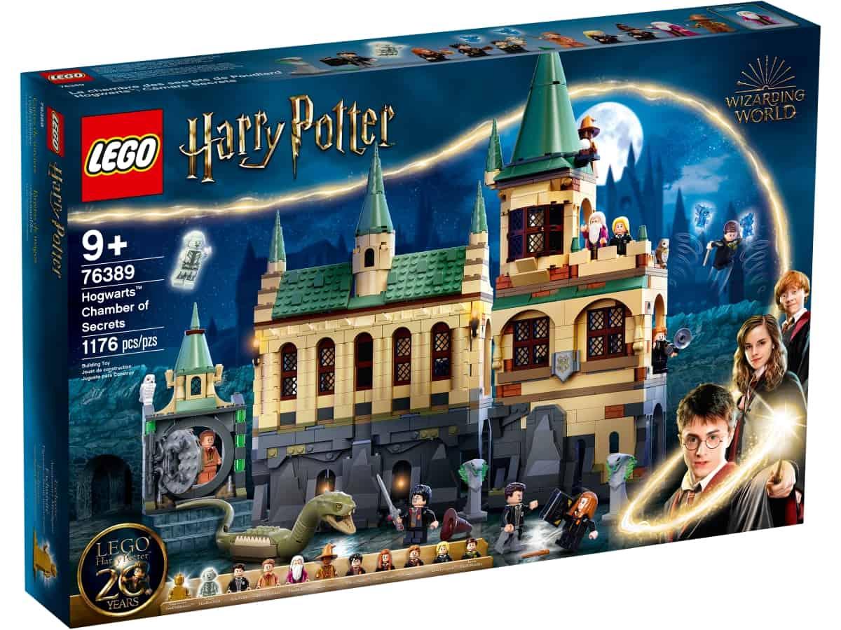 lego 76389 la camera dei segreti di hogwarts