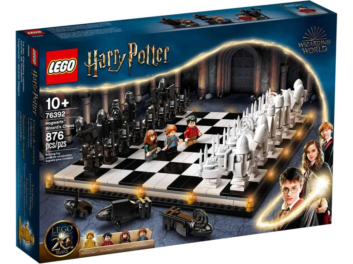 lego 76392 la scacchiera di hogwarts